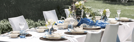 Feinstes Porzellan für Ihre Hochzeit