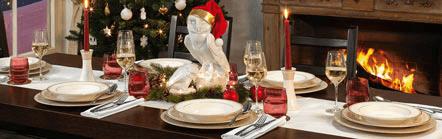 Weihnachtsträume aus Porzellan