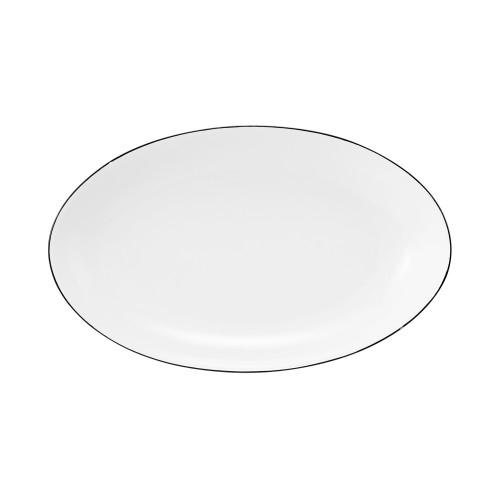 Servierplatte oval 24x14,5 cm Champs Élysées Classique Noir 4206