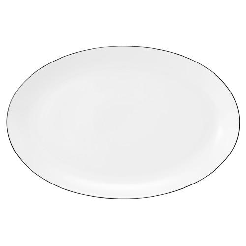 Servierplatte oval 35,5x23 cm Champs Élysées Classique Noir 4206