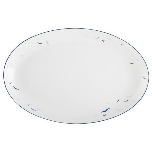 Servierplatte oval 30 x 20 cm Worpswede Rügen 4164