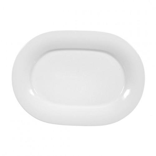 Servierplatte oval 24x17 cm Jade uni 3