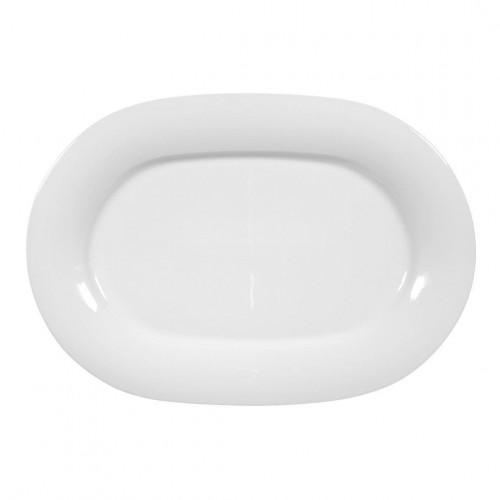 Servierplatte oval 32,5x22,5 cm Jade uni 3