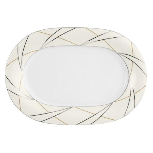 Servierplatte oval 32,5x22,5 cm Jade Silk 3669