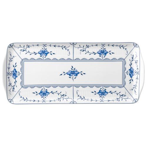 Kuchenplatte eckig 35x15,5 cm Amina Strohblume 4213