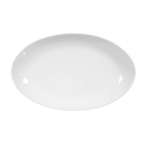 Servierplatte oval 24x14,5 cm Iphigenie uni 3