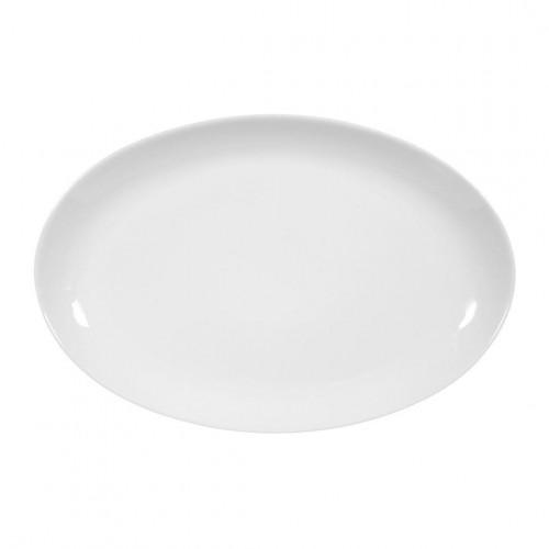 Servierplatte oval 30x20 cm Iphigenie uni 3