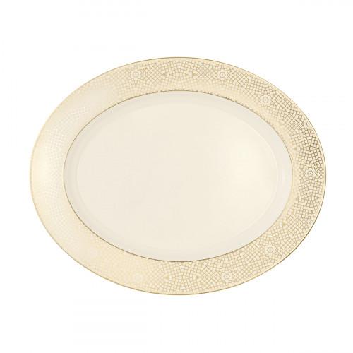 Servierplatte oval 33x26,5 cm Saphir diamant Mezquita 4195