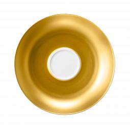 Kombi-Untertasse 15,5 cm Champs Élysées Charleston Pure Gold 4204