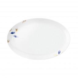 Servierplatte oval 30,5x20 cm Champs Élysées Charleston Royal Blue4205