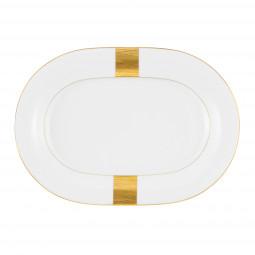 Servierplatte oval 24x17 cm Jade Macao 3636