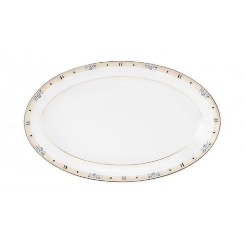 Serving platter oval 24x14,5 cm Champs Élysées Chanson 4186