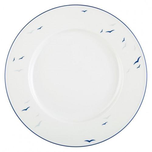 Plate flat round 27 cm Worpswede Rügen 4164