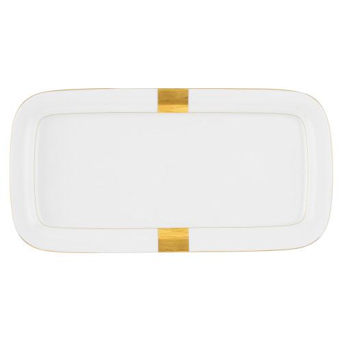 Cake platter rect. 37x18,5 cm Jade Macao 3636