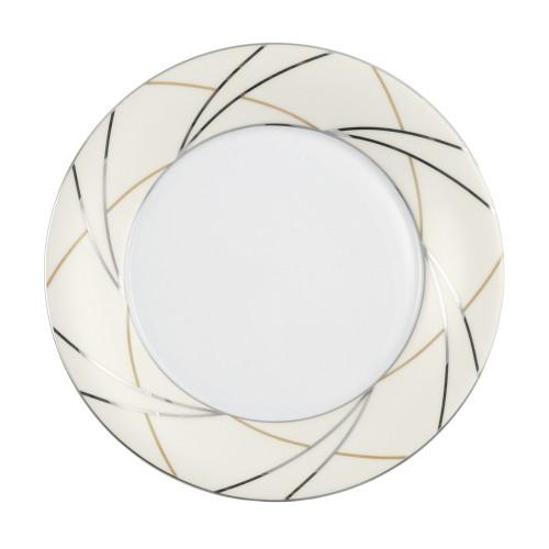 Plate round 18,5 cm Jade Silk 3669