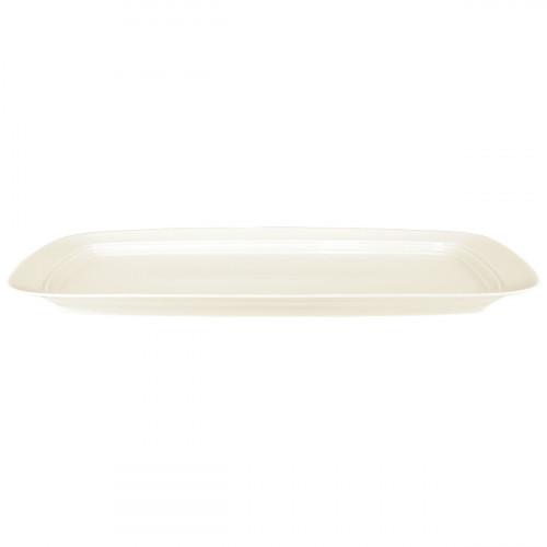Cake platter rect. 36,5x19 cm Saphir diamant uni 3
