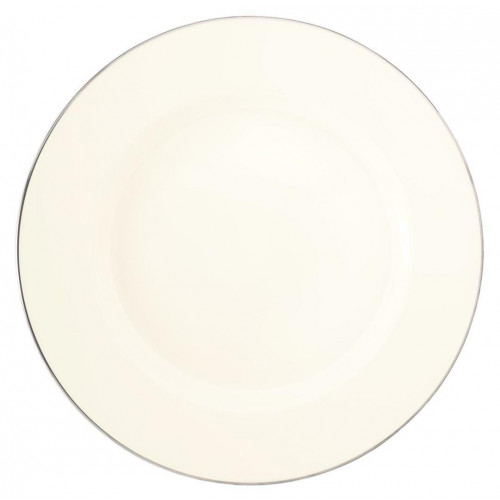 Plate flat round 28 cm Saphir diamant Argento 4158
