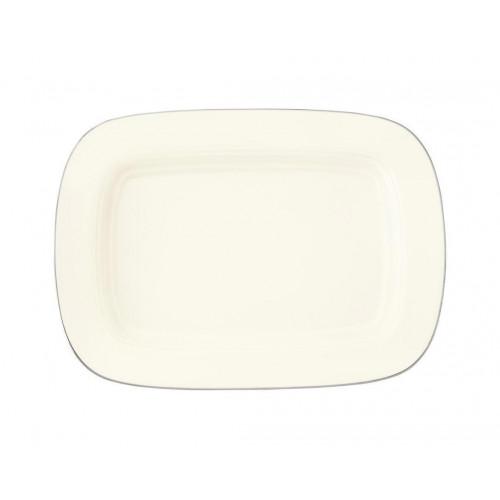 Platter rectangular 22,5x16 cm Saphir diamant Argento 4158