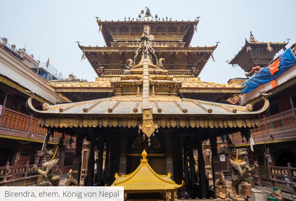 Birendra, ehemaliger König von Nepal