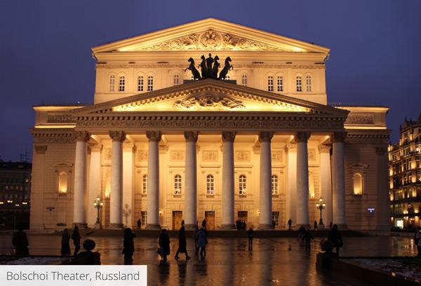 Bolschoi Theater, Russland