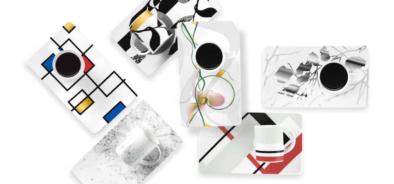 Tettau Atelier Tablett-Dekore