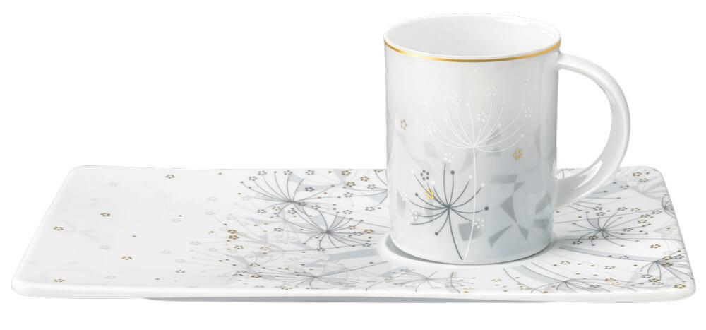 Tettau Atelier Porzellan Tablett-Set Summer Breeze
