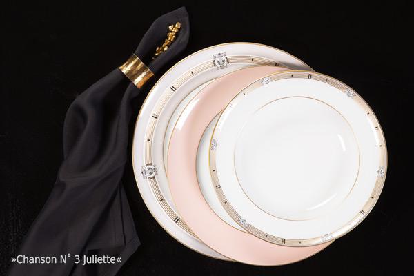 Porzellan Geschirr Chanson N°4 Juliette