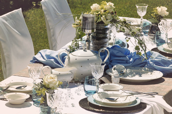 Finest porcelain for your wedding - wedding dishes