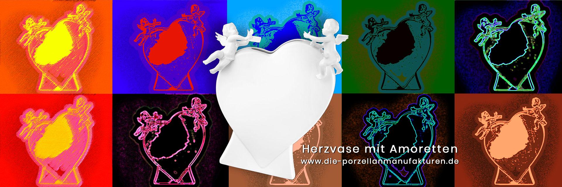 Herzvase